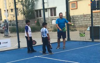 Padel coaching