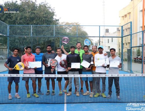 1st Prize Money Padel Tournament'18 – Overview & Highlights