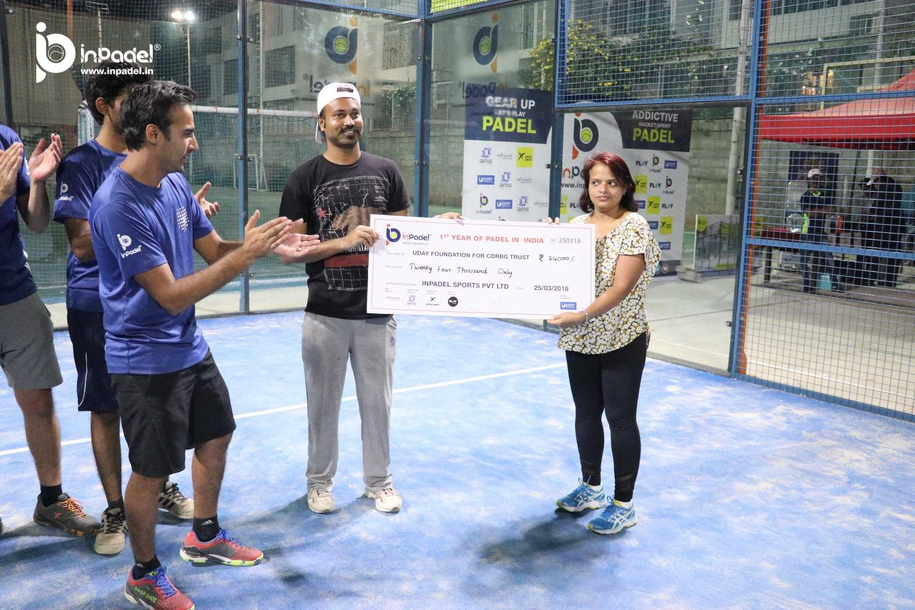 InPadel 1Yr Celebration of Padel in INDIA - Padel - Padel India (125)