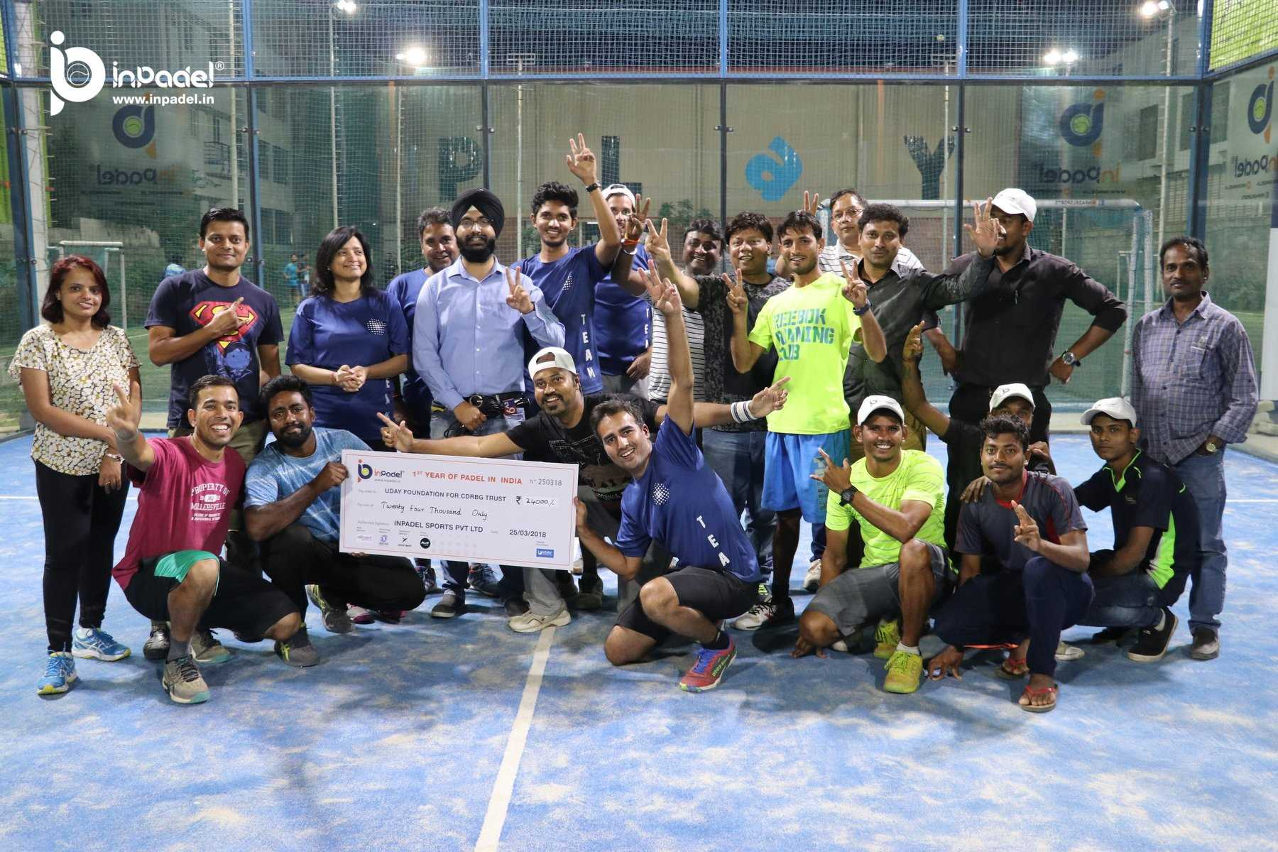 InPadel 1Yr Celebration of Padel in INDIA - Padel - Padel India (127)