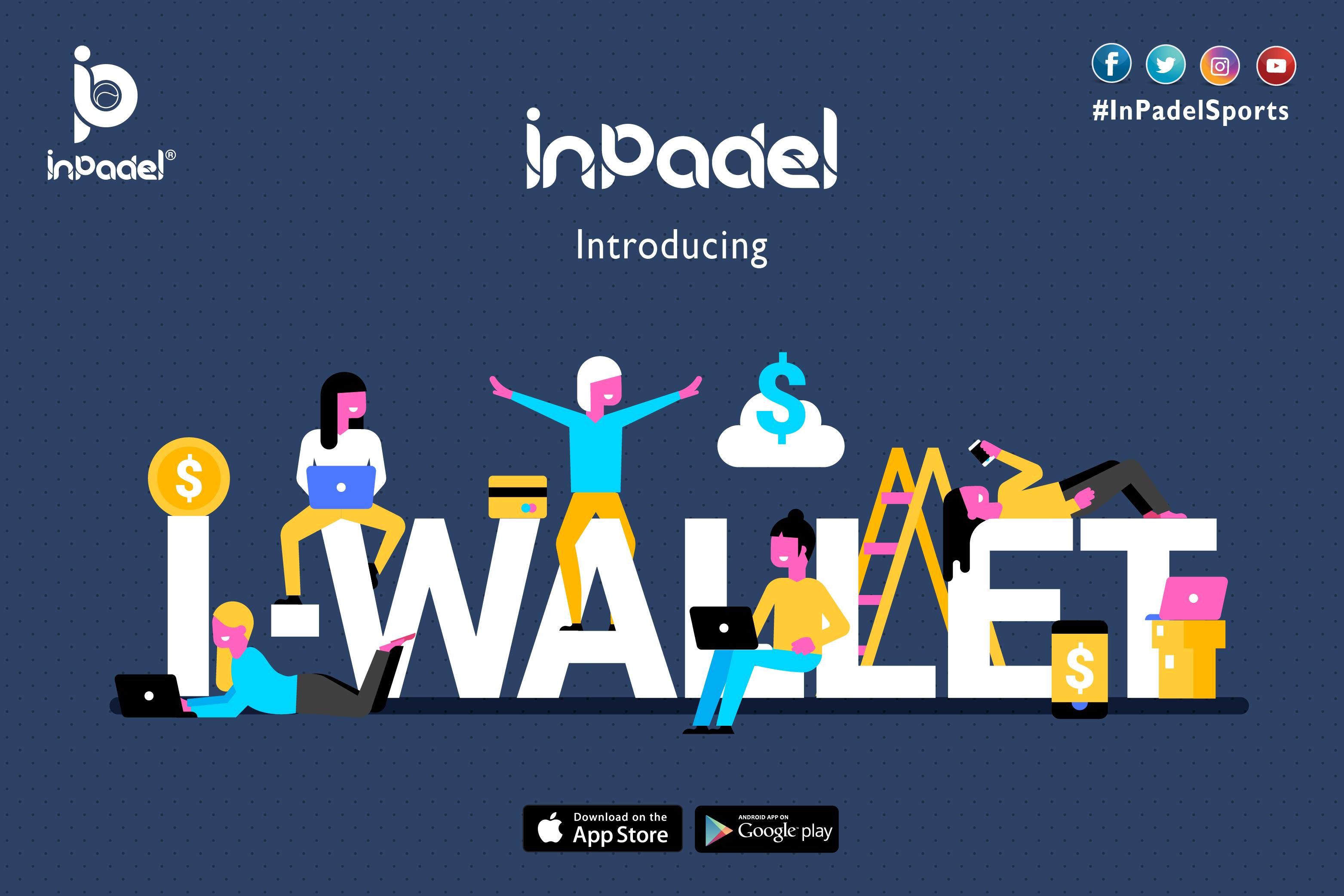 InPadel Wallet | I-Wallet | InPadel Sports