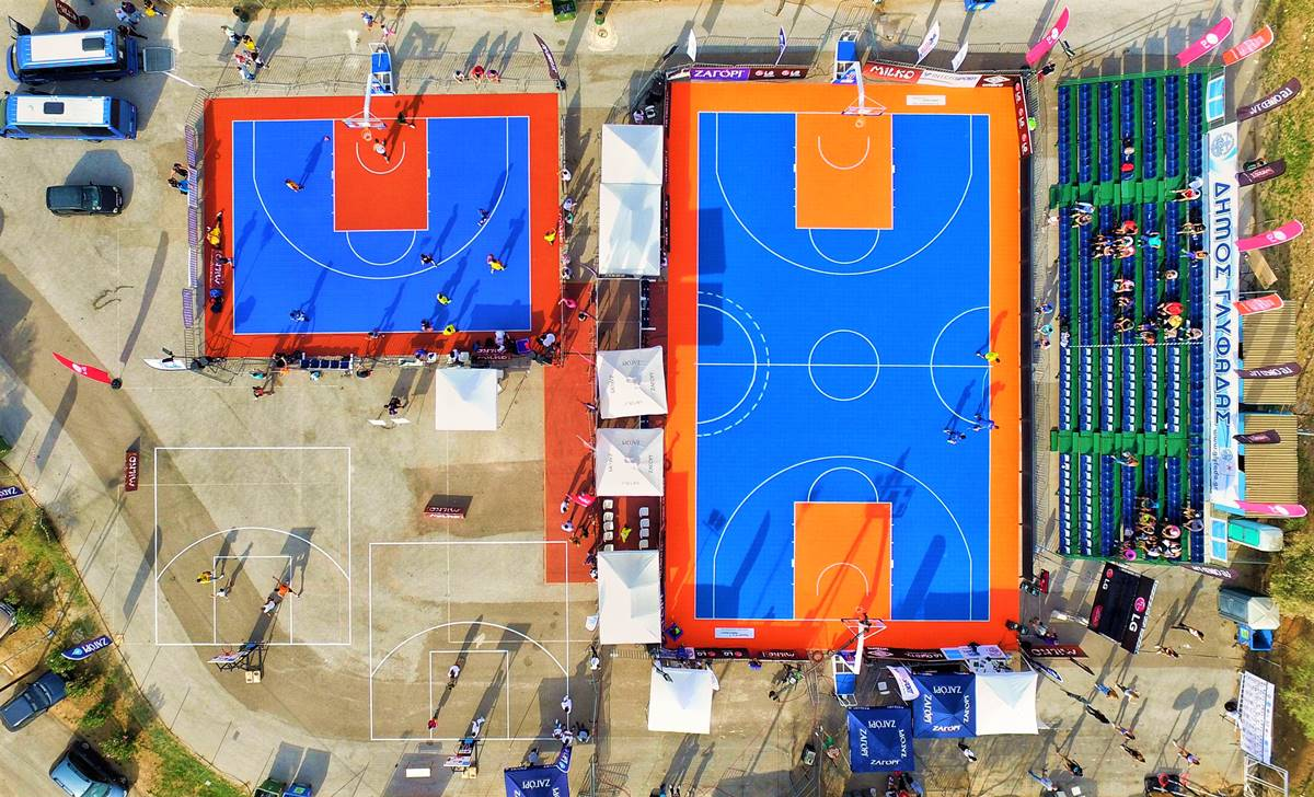 3x3 greece drone