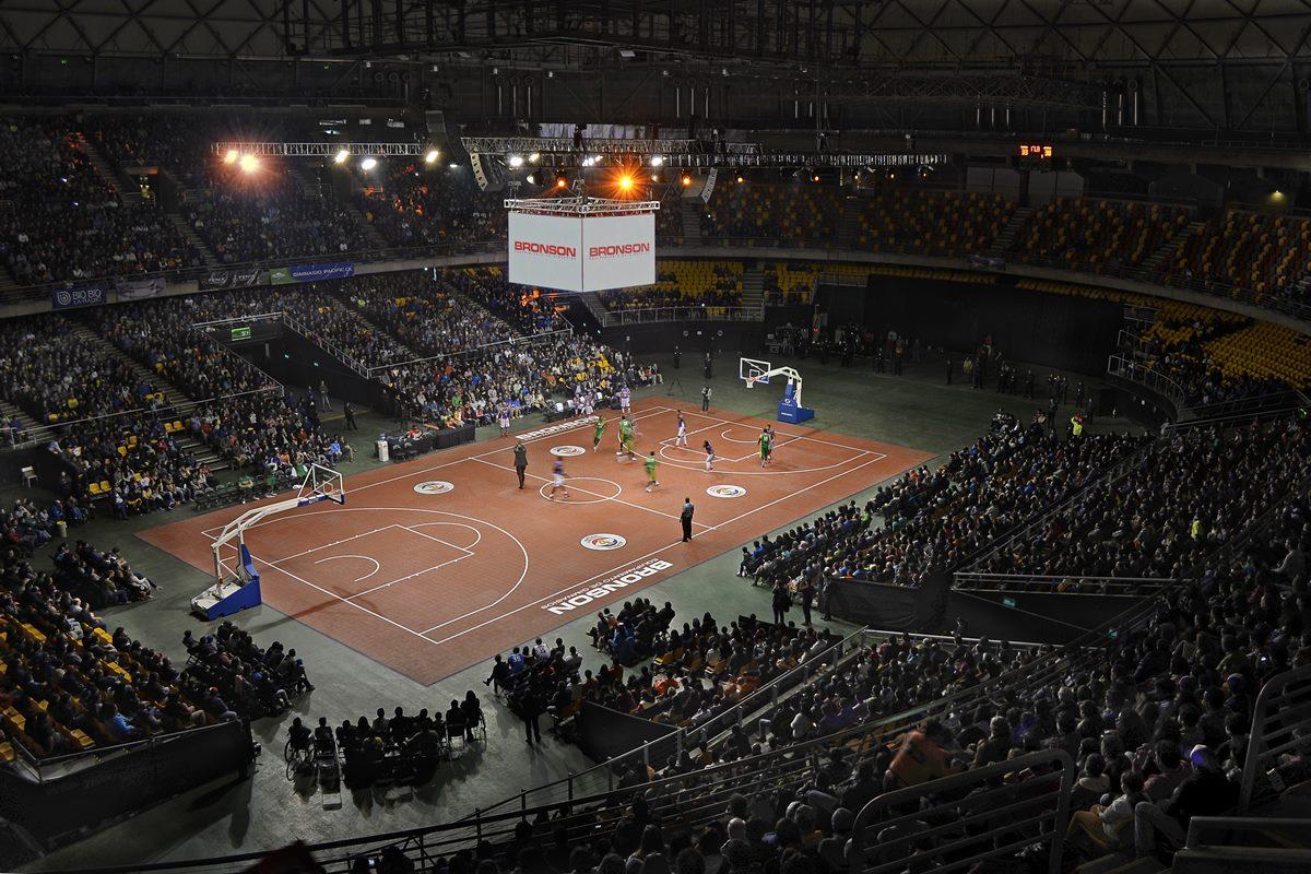 Globe Trotters en Movistar Arena3