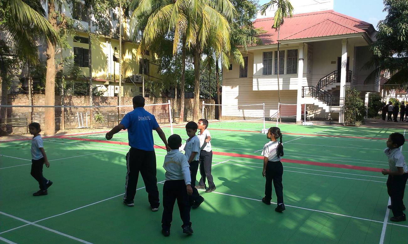 Photo sanskriti school - BADMINTON