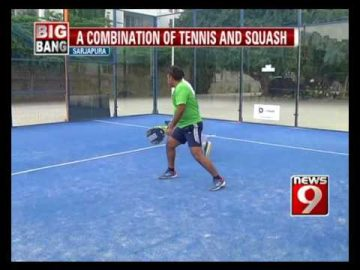 Padel, the new sport to enter India- NEWS9
