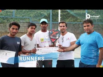 1ST PRIZE MONEY PADEL TOURNAMENT IN INDIA - 2018